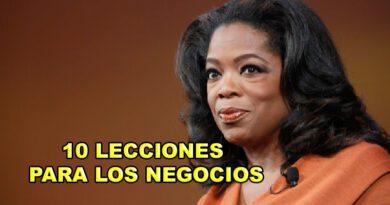 10 LECCIONES PARA LOS NEGOCIOS