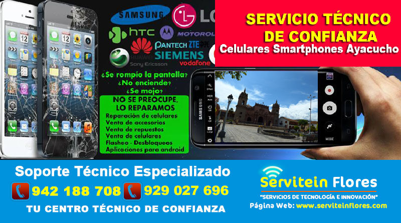 Compra online Celulares y Smartphones Ayacucho Perú Huanta Vraem
