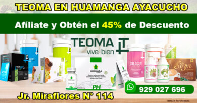 Teoma en Huamanga Ayacucho Perú