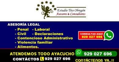 Abogados en Ayacucho Perú Huamanguina