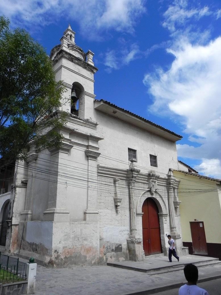 TEMPLO DE LA MERCED EN HUAMANGA AYACUCHO