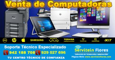 Venta de Computadoras en Ayacucho Peru Huanta Vraem