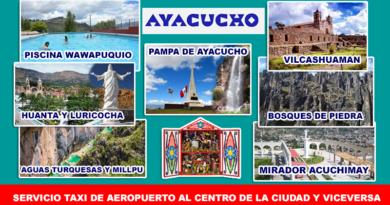 Servicio de Taxi en Ayacucho