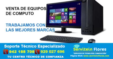 Computadoras Ayacucho Edson Flores Servitein sac