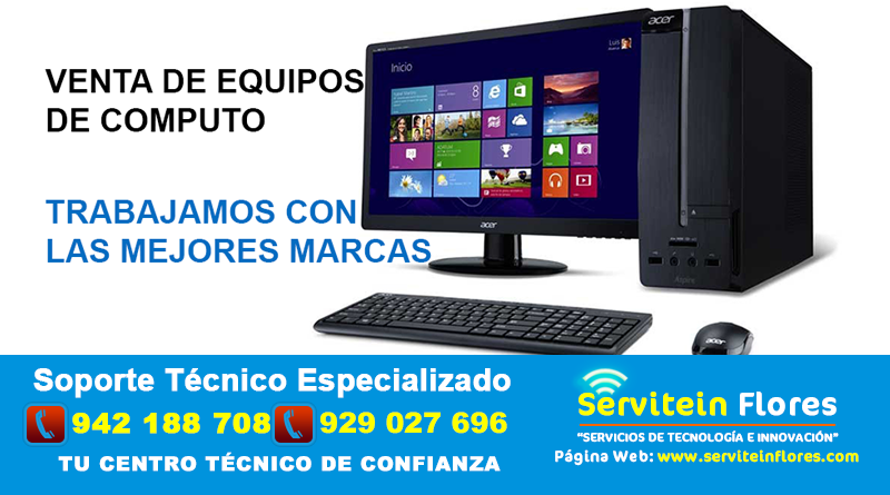 computadoras workstation y tablet Huamanga