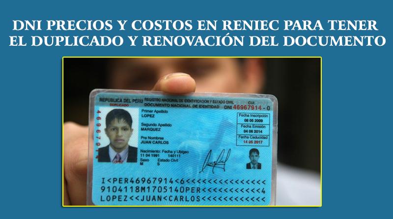 Duplicado del DNI en Ayacucho