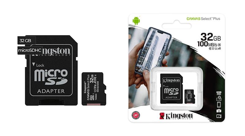 Kingston Tarjeta SD 32GB De Memoria Ayacucho