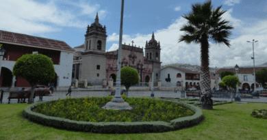 Plaza de Armas de huamanga