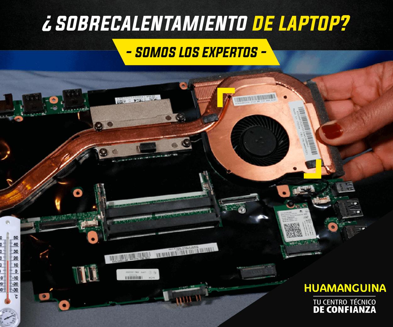 Sobrecalentamiento de laptop AYACUCHO