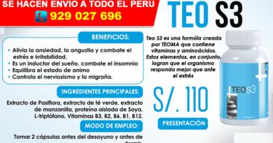Teo S3 by Teoma Ayacucho