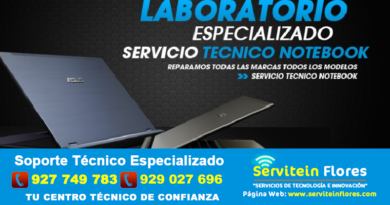 Servicios Técnico Laptops Ayacucho Flores