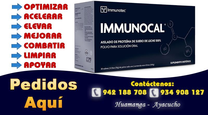 IMMUNOCAL Ayacucho Peru