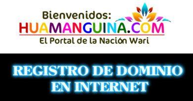 REGISTRO DE DOMINIO AYACUCHO HUAMANGUINA