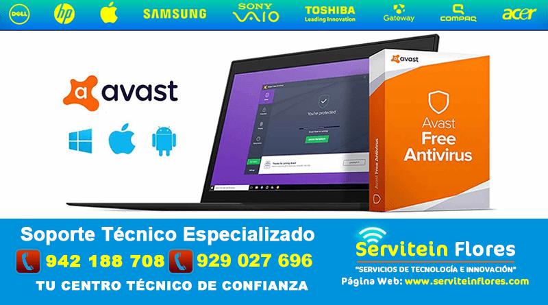 AVAST AntiVirus gratis antivirus Ayacucho Huamanga Peru