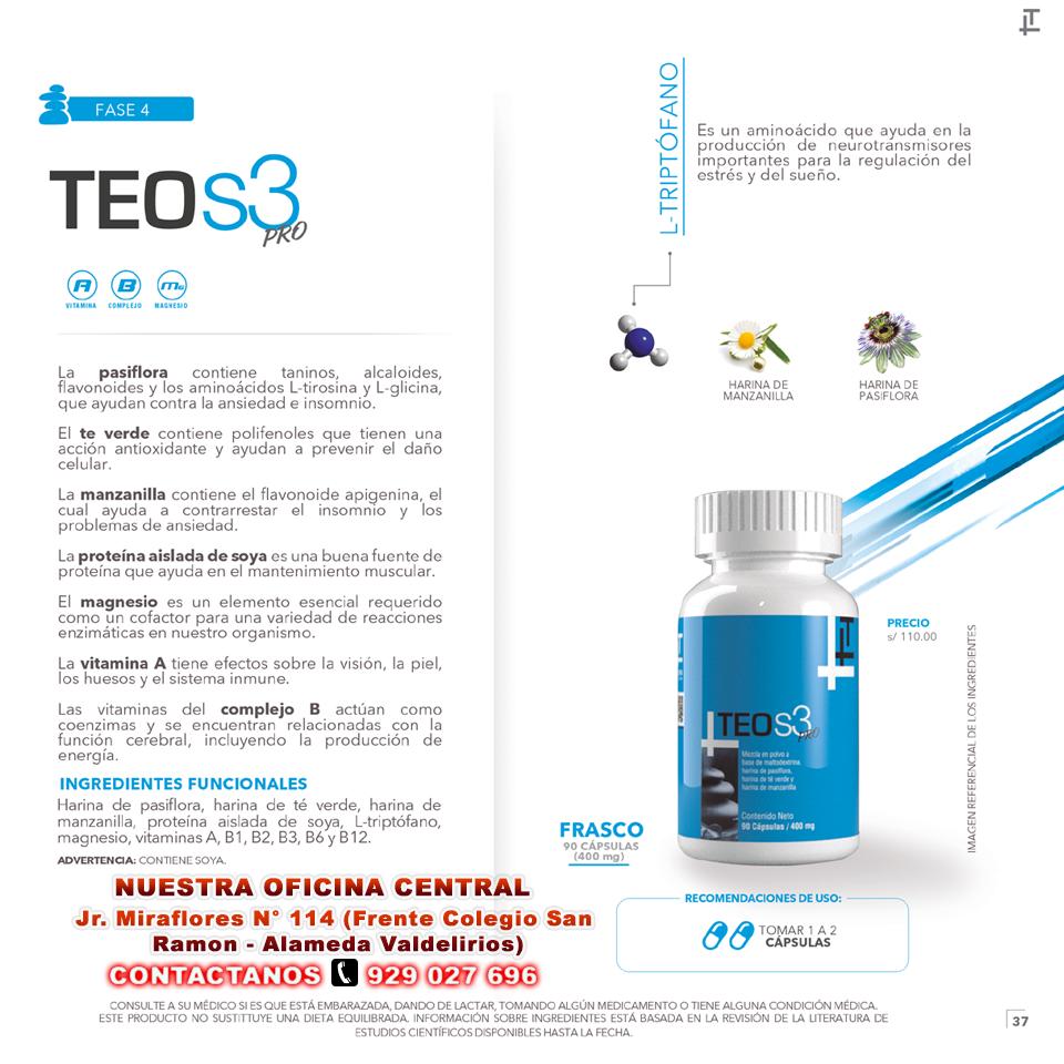 TEO S3 vitaminas