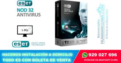 ANTIVIRUS ESET NOD32 Antivirus INFAMOUS (1PC)