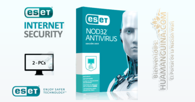 ANTIVIRUS ESET NOD32 Home Edition 2020 (2pc)