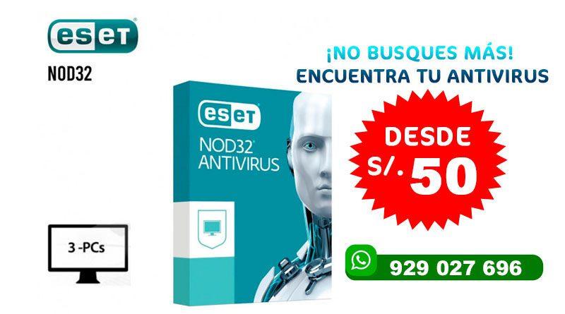 ANTIVIRUS ESET NOD32 Home Edition 2020