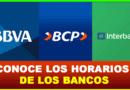 Así serán los nuevos horarios de bancos a partir de hoy