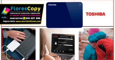 Disco Duro de 1TB Externo USB 3.0 Toshiba Canvio Advance