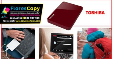 Disco Duro de 1TB Externo USB 3.0 Toshiba Canvio Advance Rojo