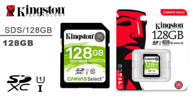MEMORIA SD 64GB KINGSTON Canvas Select UHS-I CL10