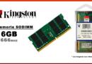 MEMORIA SODIMM DDR4 16GB 2666 KINGSTON