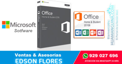 MICROSOFT OFFICE Home & Student 2016 1PC for Mac Ayacucho Surquillo