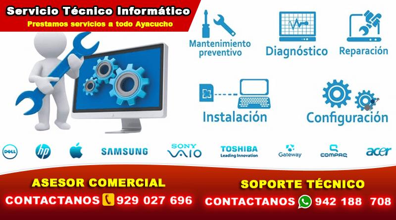 Soporte Técnico en Ayacucho Huamanga