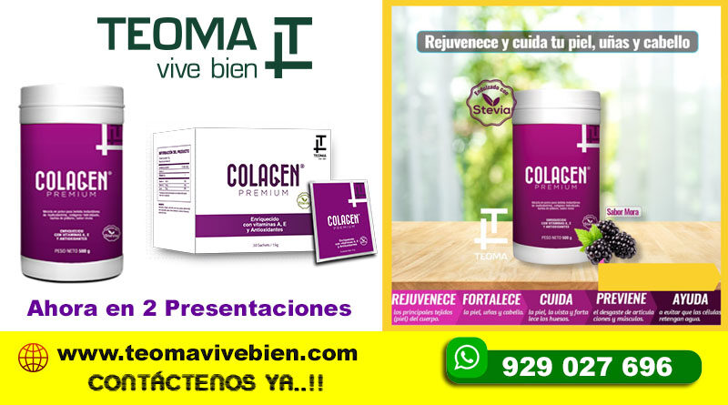 COLAGENO PREMIUM BY TEOMA