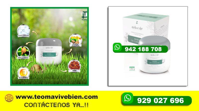Crema de Baba de Caracol Reafirmante y Nutritiva Teoma Ayacucho