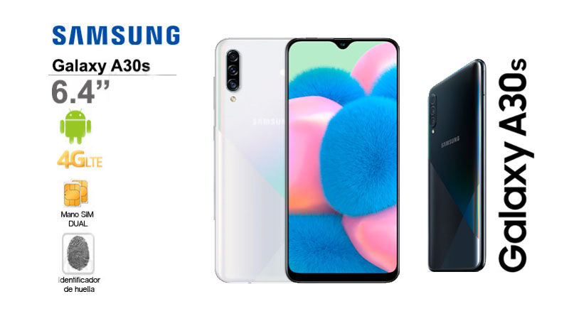 Smartphone SAMSUNG Galaxy A30S 6.4 4/64/And9 Whit