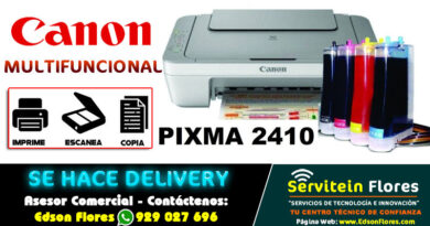 Impresora Multifuncional Pixma MG2410